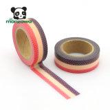 Drucken-Punkt-Spitze-Entwurf anhaftendes Washi Band Manzawa Soem-kundenspezifischer Cmyk