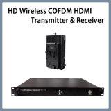 Portátil HD Cofdm HDMI/HD-SDI Nlos transmissor e receptor de vídeo sem fio