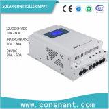 Солнечные энергетические системы 10-80A MPPT солнечного контроллера заряда 12/24/48/96В