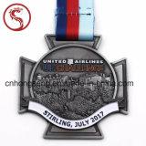 Медаль металла цветастой эмали идущее