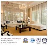 Mobília moderna do hotel para a mobília branca da sala de visitas ajustada (YB-S-12)