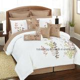 ばねまたは夏の花のキルトの一定の刺繍パターン寝具セット