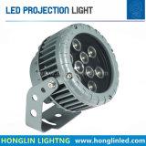 높은 빌딩 DMX512 R/Y/B/G/W/Ww/RGB를 위한 최신 판매 LED 투상 빛 5W