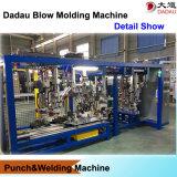 Machine de moulage de coup automatique de doubles palettes de paquet