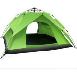 Maak het Kamperen van Twee Personen Tent van het Strand van de Tent van de Laag van de Tent de Enige waterdicht
