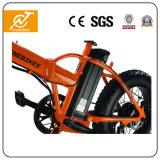 オレンジ電気自転車の折るフレームEbikes 36V 350W