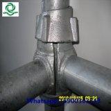 Aufbau StahlCuplock Baugerüst-System
