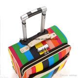Bw1-172柔らかいエヴァのナイロンかポリエステル折る荷物のスーツケース