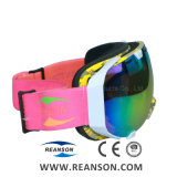 Grande taille Confortable lunettes de ski professionnels