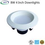 Kit de rattrapage à LED 8 W Downlight avec certificat UL es