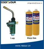 Lado Coolsour maçarico a gás portáteis para ferramentas de brasagem cobre de Refrigeração