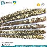 耐摩耗加工のための銅またはニッケルの炭化タングステンの構成の溶接棒