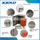 Parede de chapas metálicas ontagem caixa da placa do painel de distribuição de gabinete