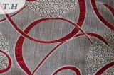 100%Polyester 금속 털실 소파 직물