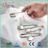 """5개의 """" 담요 걸기를 위한 은 거대한 강한 스테인리스 세탁물 안전핀"""