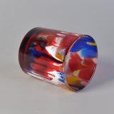 転送の印刷のガラス蝋燭ホールダー