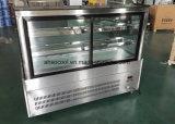 Tre strati ad angolo retto della torta della visualizzazione del dispositivo di raffreddamento del frigorifero dell'annuncio pubblicitario