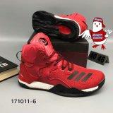 Nam 7 VII Tennisschoenen van de Basketbalschoenen van de Mensen van de Verhoging van de Boortoren Zwarte Rode toe
