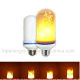 LED 프레임 효력에 의하여 시뮬레이트하는 성격 화재 빛 옥수수 전구 E27 훈장 램프