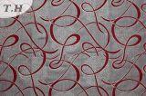100%Polyester金属ヤーンのソファーファブリック