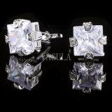 Os homens de bijutaria VAGULA Crystal Punhos Gemelos 501