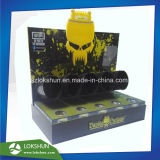 صنع وفقا لطلب الزّبون سوداء وعرض أصفر أكريليكيّ مضادّة مع 5 أنابيب, محترفة [ل] حامل قفص أكريليكيّ [ديسبلي رك] صاحب مصنع الصين