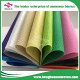 80GSM Spunbond PP reciclado Falsos tecidos de malha Sacola de Compras, Virgem de PP Nonwoven Fabric