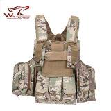 Het tactische Militaire Vest van de Veiligheid van het Gevecht van Molle van het Vest van de Draad van het Staal