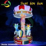 Carosello della parte superiore delle sedi della strumentazione 3 di giro del parco di divertimenti per i bambini