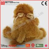 Lion mou de peluches de peluche des jouets En71 pour des gosses de bébé