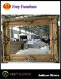 装飾的な木ミラーフレームか壁または額縁