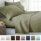Estrutura em metal escovado e o conjunto de roupa de cama 100% algodão