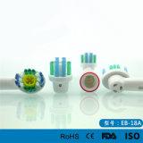 Pistas Favorable-Blancas del cepillo de dientes eléctrico del cuidado oral de la pista del reemplazo de la acción de la seda Eb-18A para B oral
