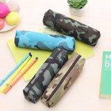 Sac de crayon d'école de couleur de camouflage et sac Fly-Pb0033 de crayon lecteur de polyester