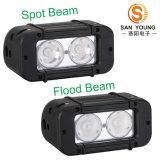20W LED 표시등 막대 LED 크리 사람 4inch LED 표시등 막대 싼 가격