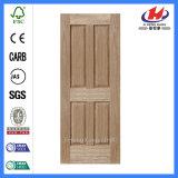 Exterior/Interior Door&#160 de madera; Diseños con Nature Chapa (JHK-004P)