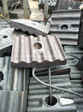 Pezzi di ricambio del laminatoio di sfera del cemento (fodera del laminatoio di sfera)