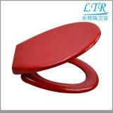 Europäischer Weiche-Abschluss-Toiletten-Sitz mit roten Farben