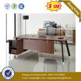 Tableau en acier de bureau exécutif de panneau de mélamine de patte de modèle neuf (UL-MFC383)
