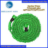 Manguito de jardín natural flexible del látex del agua ensanchable mágica portable con el manguito de la irrigación del manguito del deseo del coche del arma de aerosol