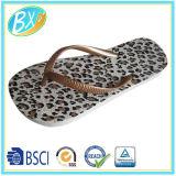 Planta del pie del PE de la impresión del leopardo, fracaso de tirón de la señora superior del PVC