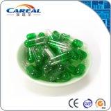 Grün-Transparente leere harte Kapseln der Gelatine-HPMC