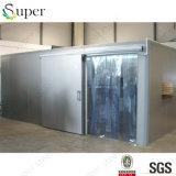 Sitio de abastecimiento de conservación en cámara frigorífica del hotel para la carne de vaca
