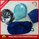 卸し売りサテンの子供は旅行綿使い捨て可能なEyemaskを印刷した