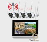 CCTV 720p HD 9 набор системы камеры сети IP наблюдения P2p цифров беспроволочный WiFi дюйма домашний