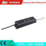12V 12A impermeabilizan la fuente de alimentación del LED con las Htl-Series de RoHS del Ce