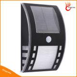Installation facile LED mur de clôture de la lumière solaire pour l'extérieur de l'éclairage décoratif