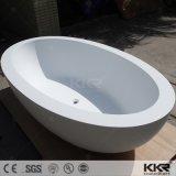 Vasca da bagno indipendente di marmo di pietra di lusso della stanza da bagno per l'hotel