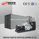 Generatore diesel silenzioso di energia elettrica di 1200kw Perkins con il contenitore insonorizzato
