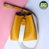 Saco de ombro clássico da menina da forma dos sacos de Tote 2017 da mulher do couro genuíno da senhora Bolsa do estilo do fornecedor Emg5231 de China